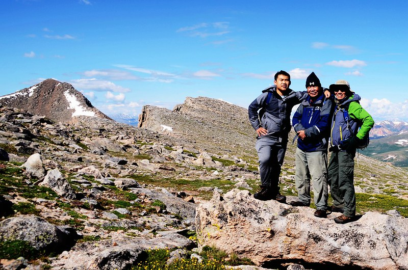 Taken from the west slope of Mount Evans after climbing the gully (12)_副本