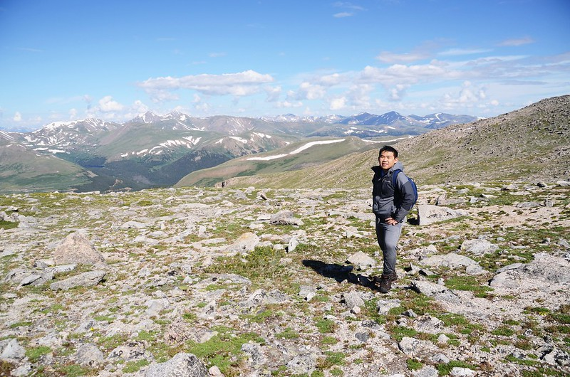 Taken from the west slope of Mount Evans after climbing the gully (8)