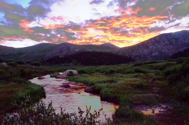 Scott Gomer Creek in the dawn (2)