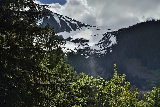 A Snowcapped Mountainside (North Cascades National Park)