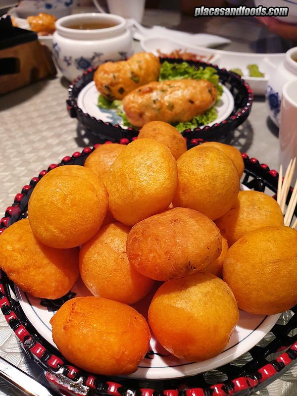 kiki by fong lye KLCC sweet potato ball