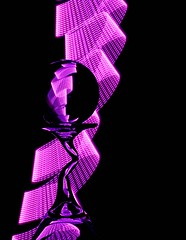 Pink Ribbon Light