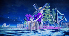 .. wide awake in this violet city ..  (The Sim Quarterly-Orizuru Photo Contest)