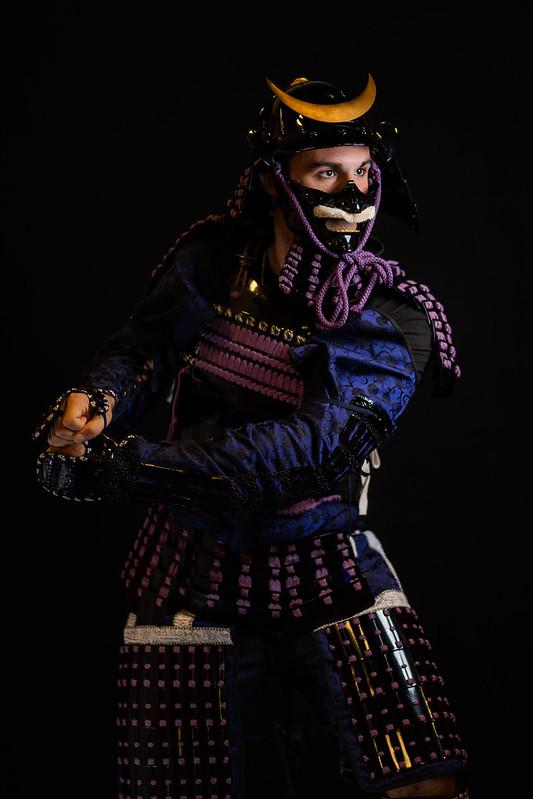 Samurai Armor Portrait Booth - Triangle JapanFest 2019