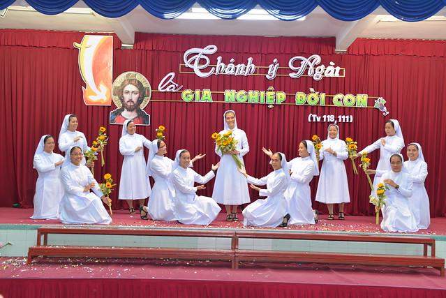 Thánh lễ Tuyên khấn lần đầu 2019