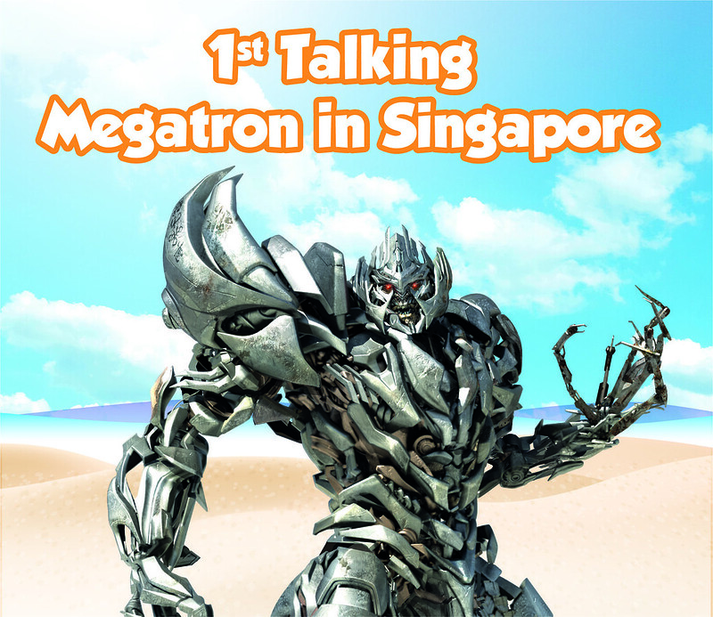 universal studos singapore megatron