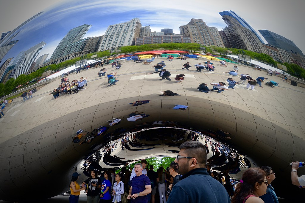 Fun at the Bean - Chicago IL