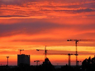 Munich sunrise.