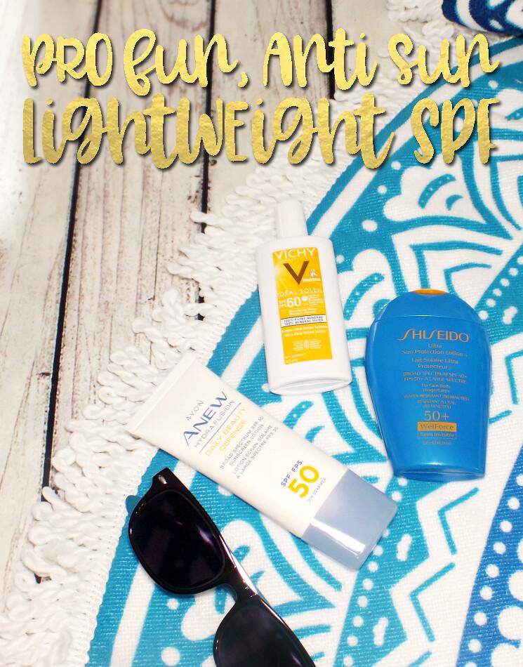 lightweight spf avon, vichy & shiseido (1)