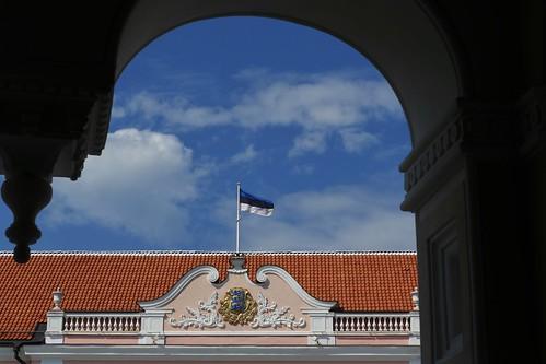 Detall de l'edifici del Parlament