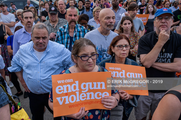 Candlelight Vigil For Mass Shootings Victims