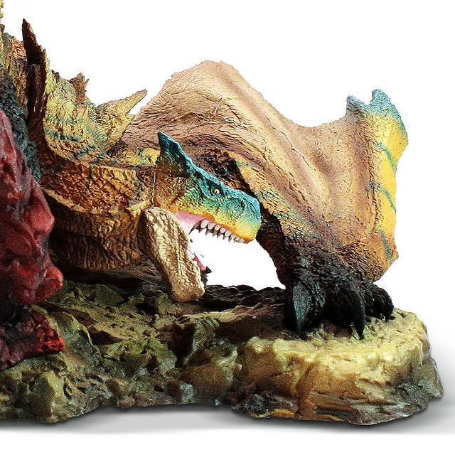 瘋狂火車頭回歸!CFB《魔物獵人世界:Iceborne》Creator's Model  轟龍 迪加雷克斯 復刻版(轟竜 ティガレックス)塗裝完成品