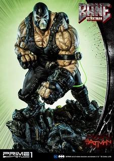 把蝙蝠俠揍爆的霸氣姿態,監獄之王駕到!! Prime 1 Studio DC Comics【班恩VS蝙蝠俠】ベインVSバットマン UMMDC-02 1/3 比例全身雕像 普通版 / EX版