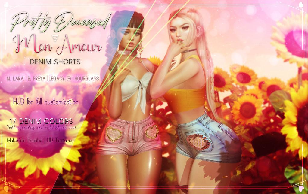 ♥Mon Amour Shorts♥