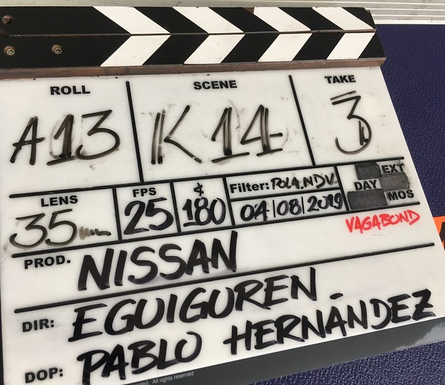 Nissan shoot BCN