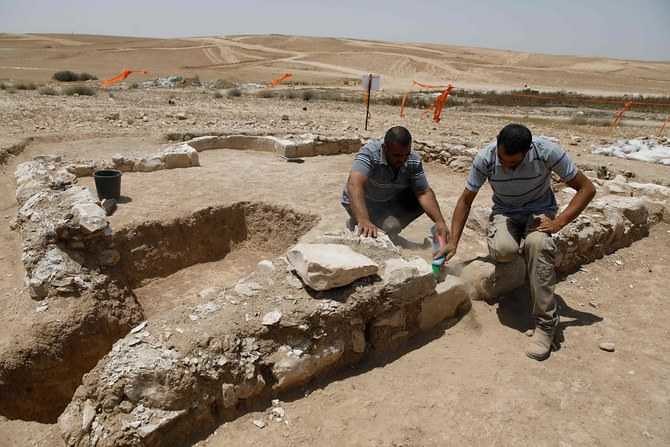 5268 1300 years old mosque discovered in Israel 03
