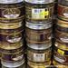 Jars of Cinnamon Sticks & Spices - Chhatrapati Shivaji International Airport Mumbai Maharastra India