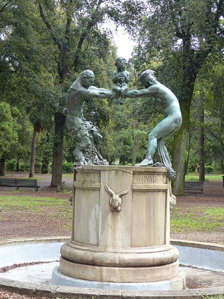statue lapin