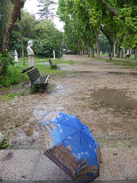 parapluie romain
