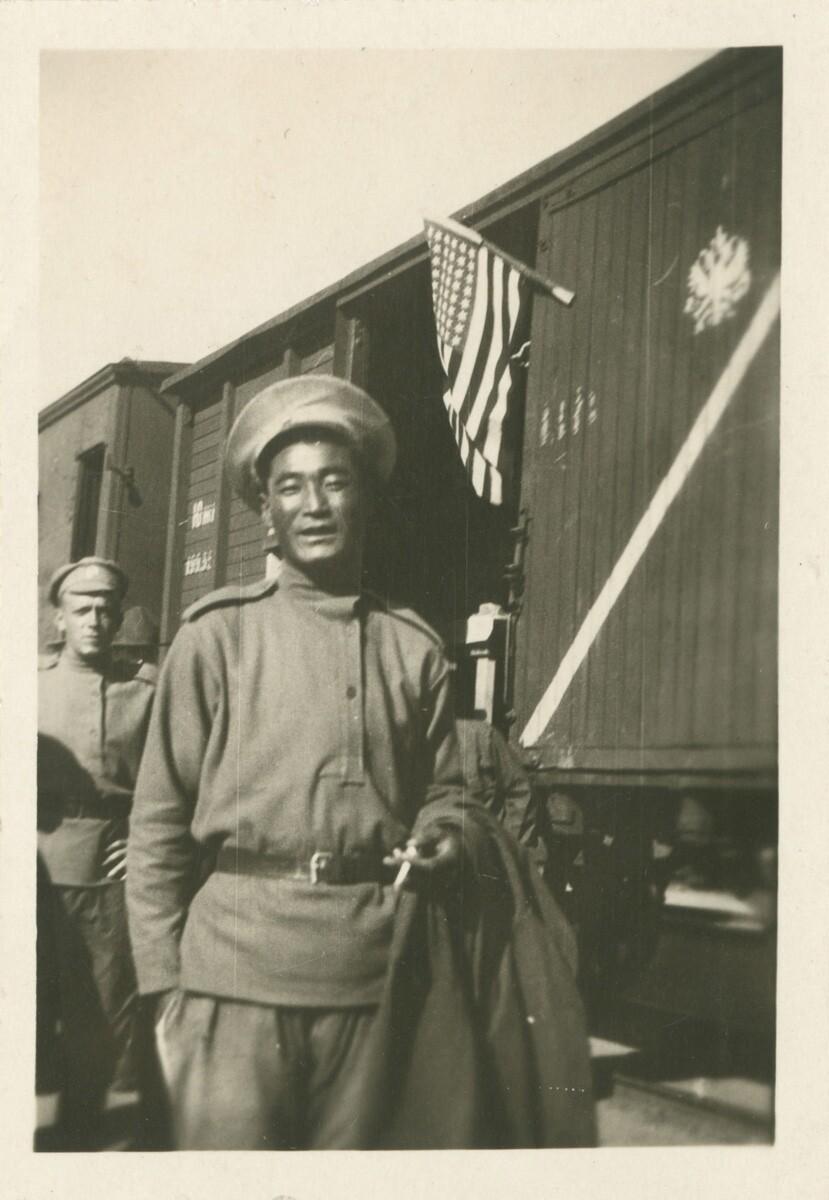 07. Китайский солдат, принадлежащий армии генерала Хорвата