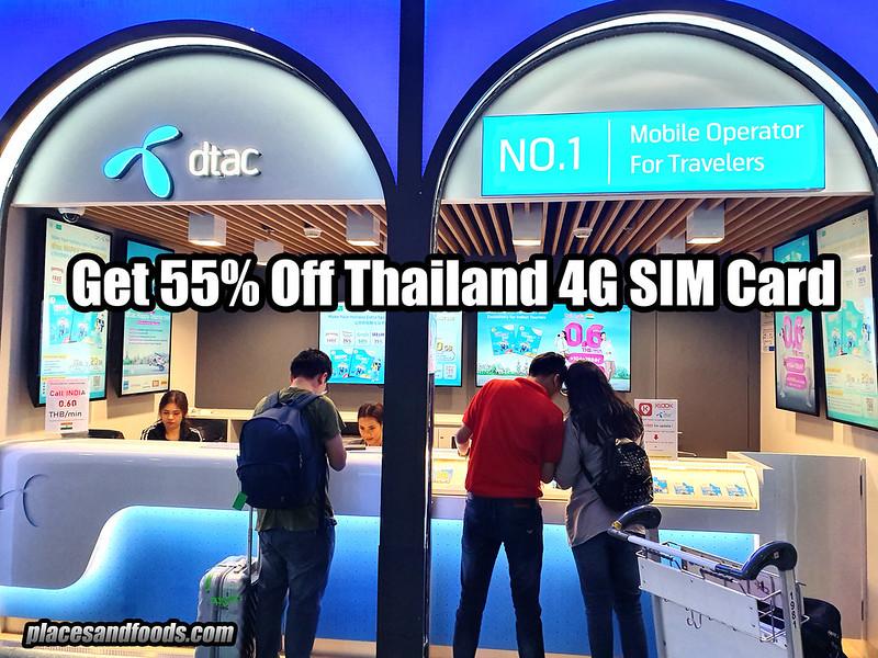 thai 4g sim card