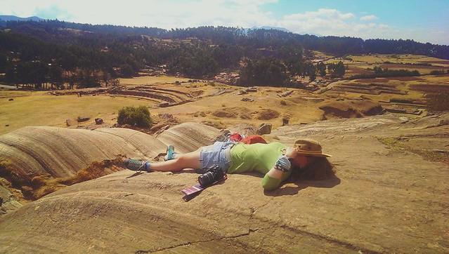 Kirsten Peru Hiking Heatwave