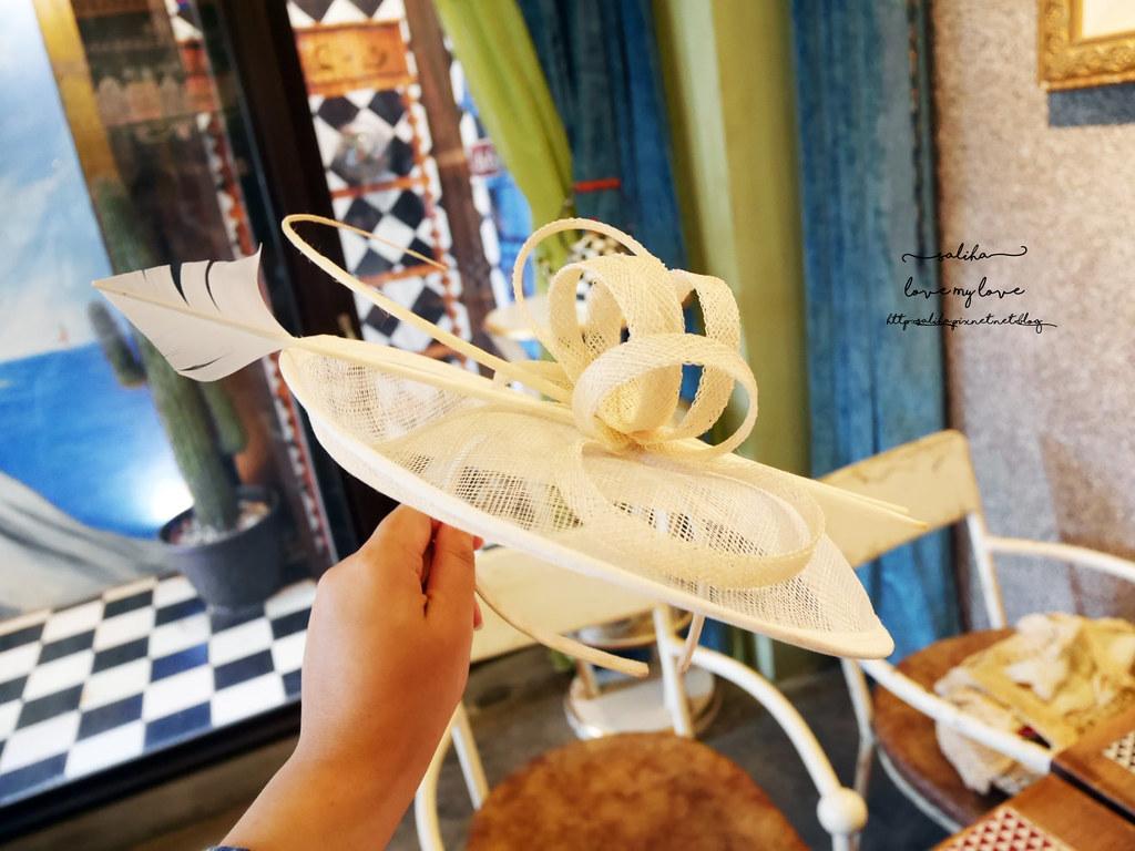 台中草悟道競子咖啡愛麗絲下午茶早午餐彩繪牆好拍ig景點餐廳 (5)