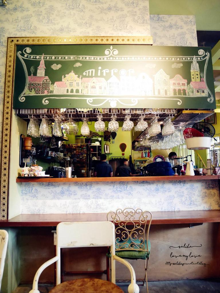 台中草悟道競子咖啡mirror cafe愛麗絲下午茶夢幻ig拍照景點餐廳推薦 (3)