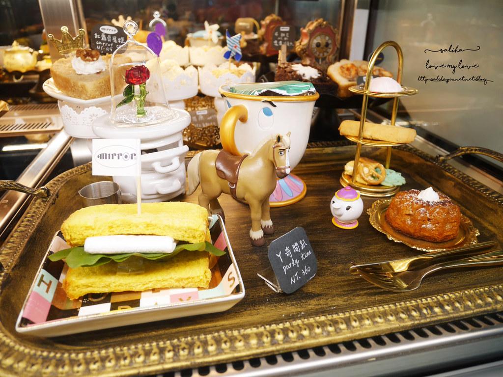 台中草悟道競子咖啡mirror cafe愛麗絲下午茶夢幻ig拍照景點餐廳推薦 (1)