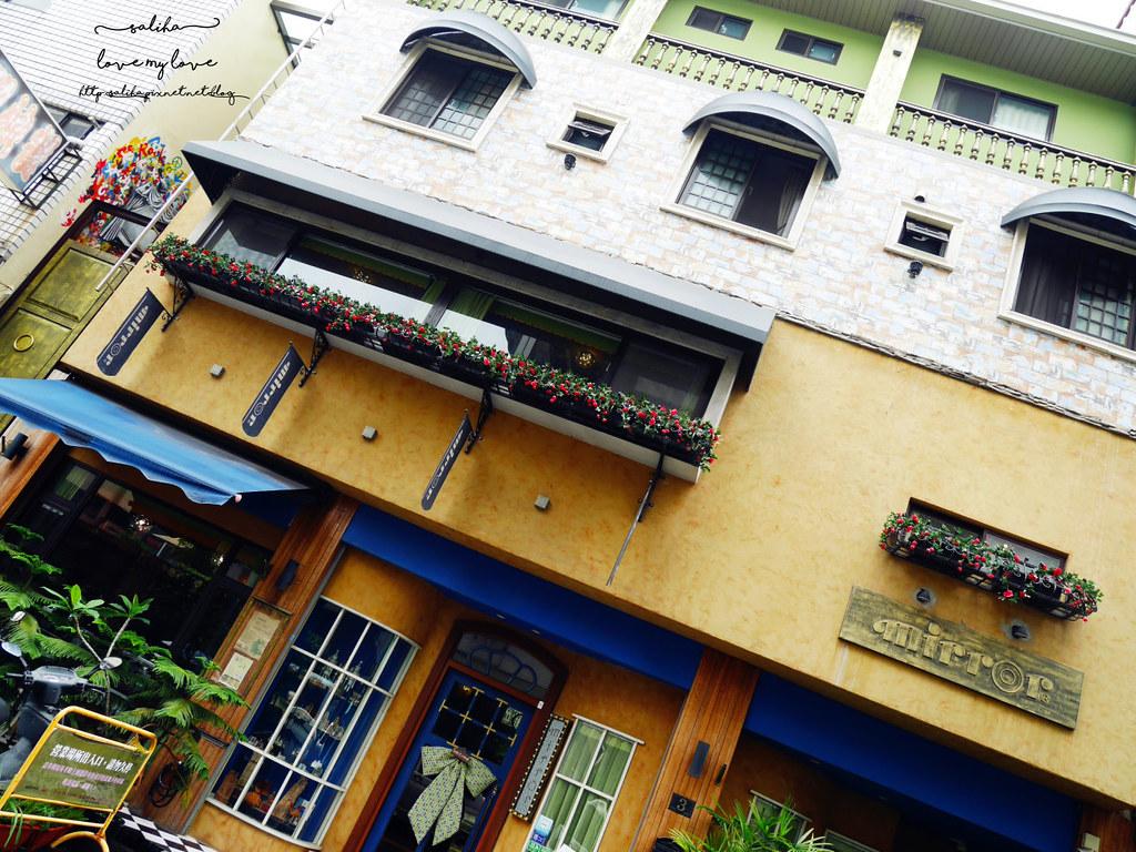 台中草悟道模範街愛麗絲下午茶競子咖啡ig必拍打卡餐廳推薦 (2)