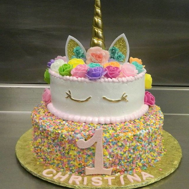 Unicorn Cake by Dominican Cakes and Bridal Shop