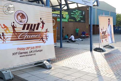 Hoardings of the NYS Games
