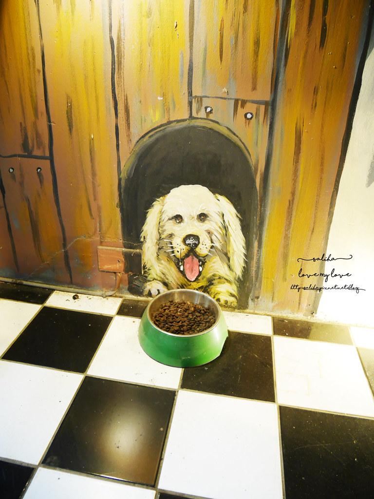 台中草悟道競子咖啡愛麗絲下午茶早午餐彩繪牆好拍ig景點餐廳 (3)