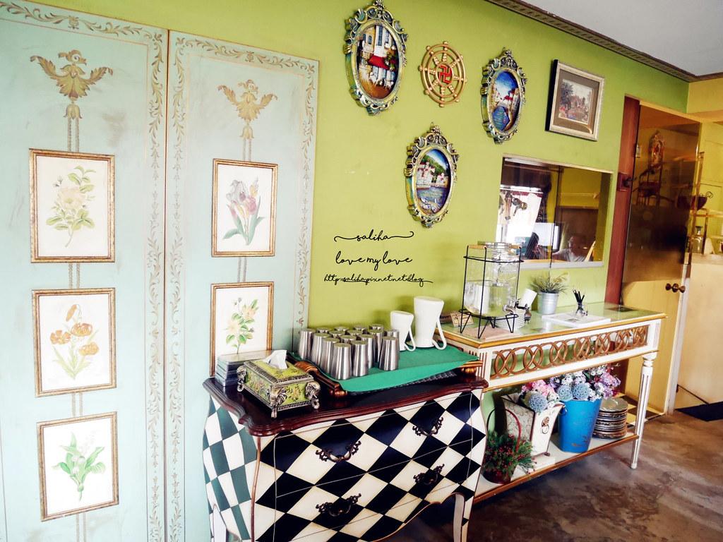 台中西區草悟道競子咖啡不限時間氣氛好浪漫愛麗絲夢幻餐廳 (4)