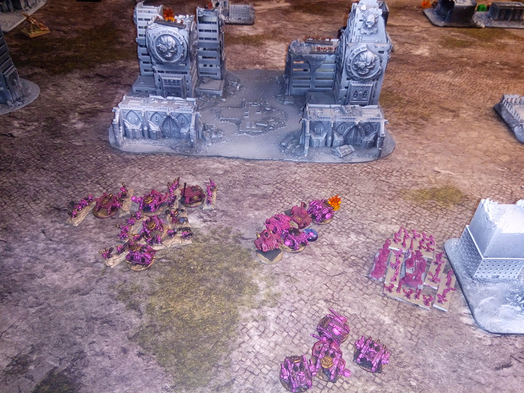 [06.08.19] Blood Angels vs Emperor's Children (3500 pts).  48470499991_d825948c93_b