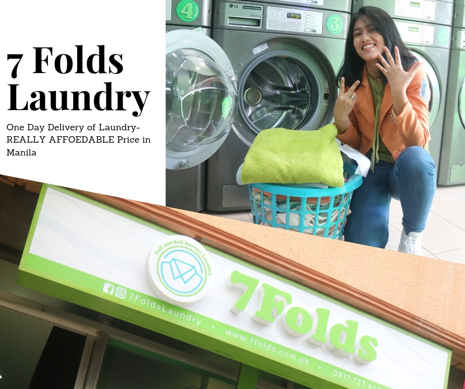 Too Tired to do Laundry? Do it here at 7 Folds Laundry in Quirino, Manila