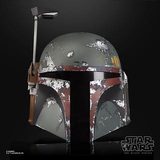 孩之寶《星際大戰》黑標系列 - 波巴‧費特 1:1 比例豪華電子頭盔 Boba Fett Premium Electronic Helmet