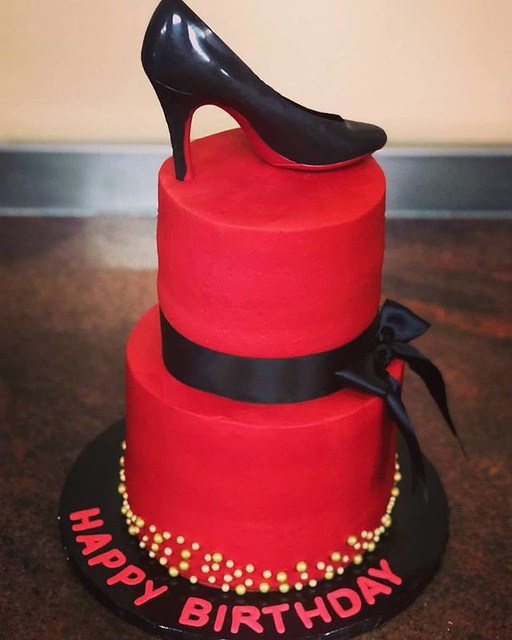 High Heels Shoe Cake by Scotchie's Custom Cakes
