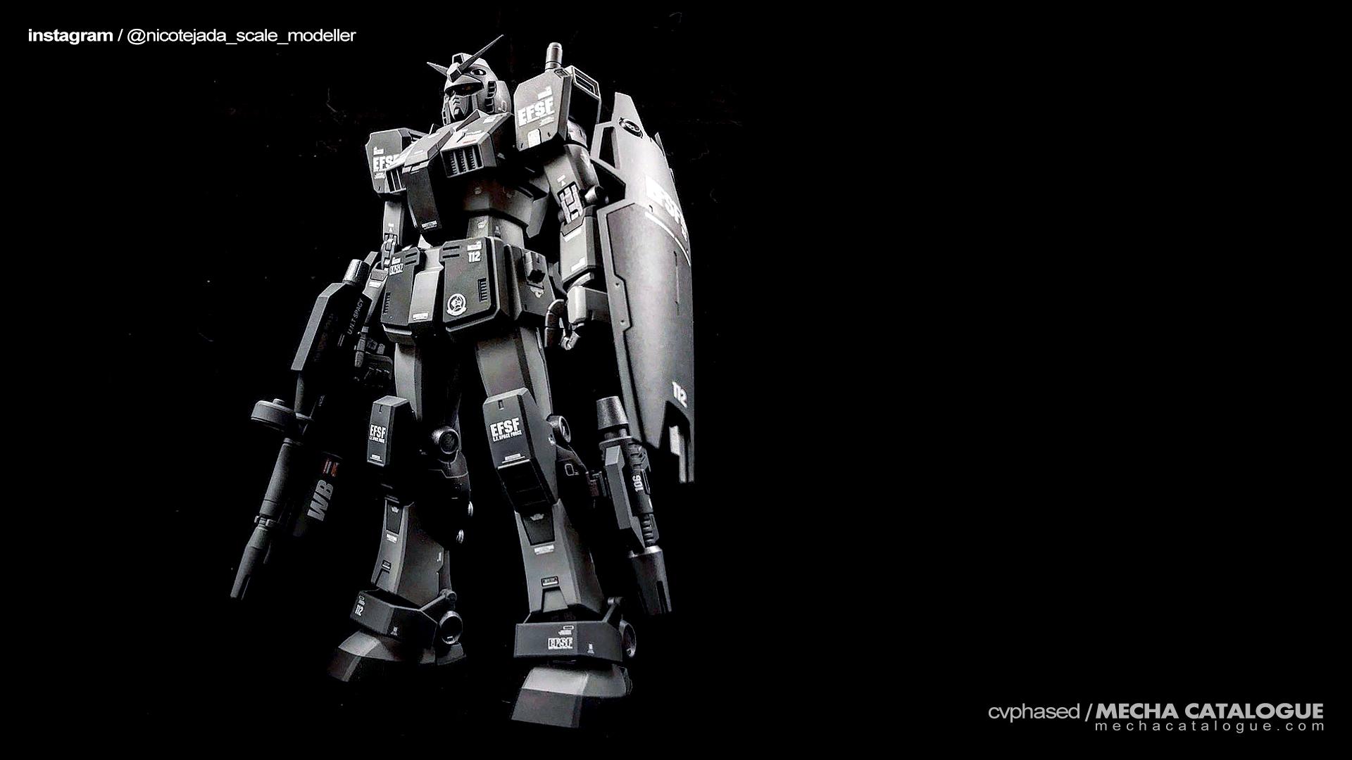 "Plastic Crack: Custom Gunpla Project ""Guard Gundams"""