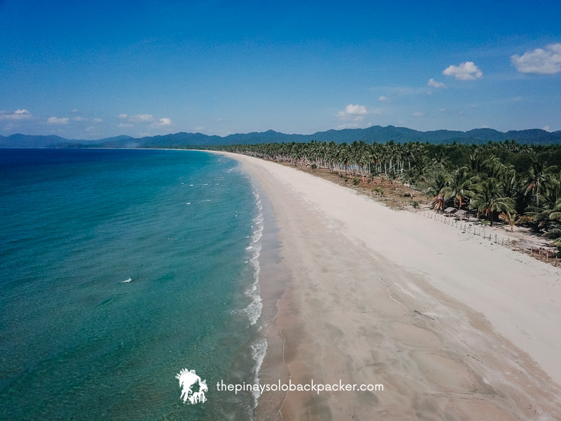 san vicente palawan things to do: Long Beach San Vicente Palawan