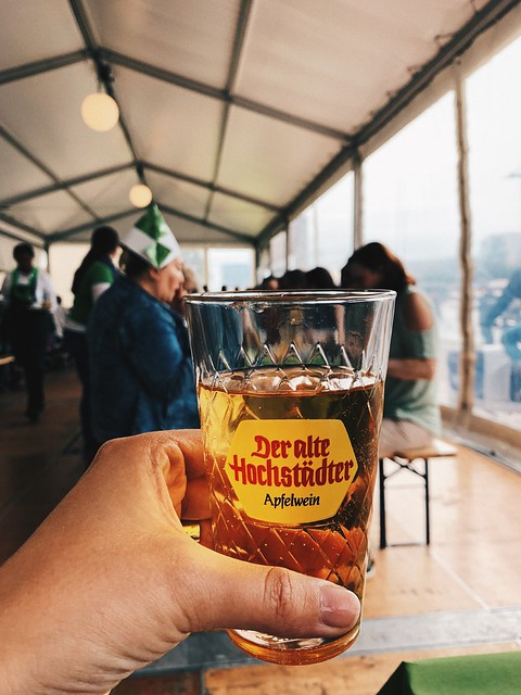 Франкфуртский фестиваль яблочного вина - Frankfurter Apfelweinfestival (9-18 августа).