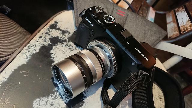 Canon 85mm f1.5 LTM 中片幅實力