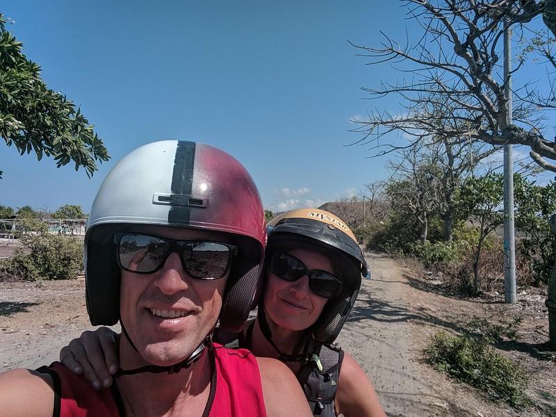 motorizados en Lombok