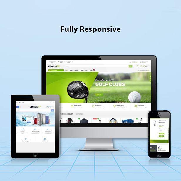 Vega Store e-commerce Prestashop theme