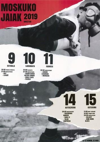 Moskuko Jaiak 2019 Kartela