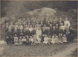 Klara og Sverre Røsdals bryllup (1926)