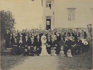 Malene og Olav Grønlis bryllup (1936)