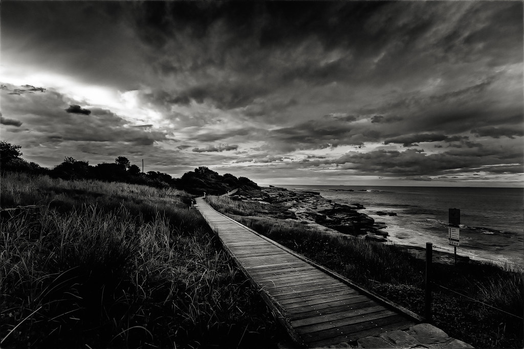 Evening Coast Walk North