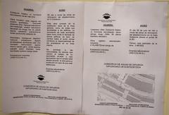 Nota informativa del Consorcio de Aguas