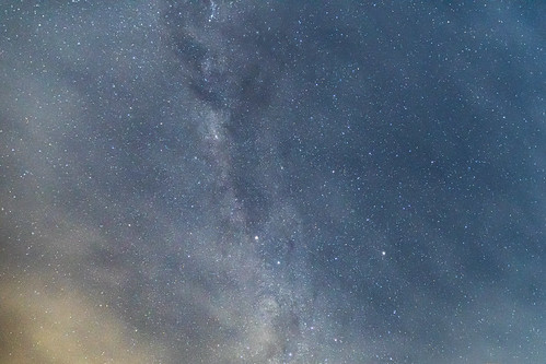 Night sky with High Cloud and Stars